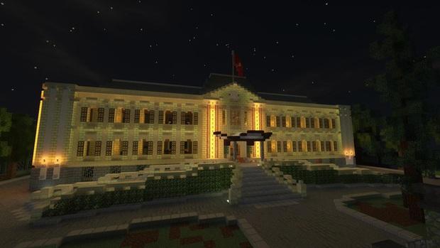 Phố đi bộ quanh Hồ Gươm được tái hiện lại trong Minecraft - Ảnh 5.