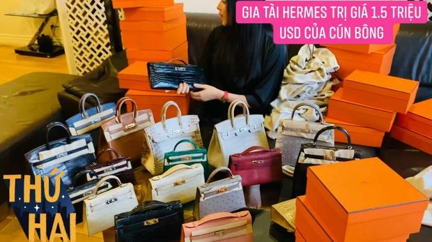 Hot mom nhiều túi Hermès hơn cả Ngọc Trinh hé lộ gia tài túi hơn 30 tỷ, nhiều mẫu hot hit chưa chắc có tiền đã mua được - Ảnh 9.
