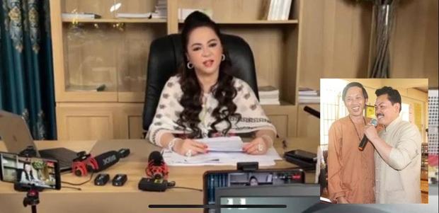 Vợ ông Dũng lò vôi hé lộ lý do gọi tên NS Hoài Linh trong loạt ồn ào, netizen ngán ngẩm vì quá thô tục và kém duyên - Ảnh 3.
