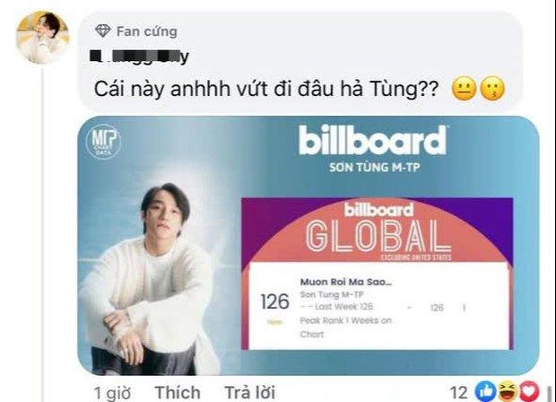 Hỏi nhỏ: Cả làng ăn mừng thành tích lọt BXH Billboard Global xong xuôi rồi mà Sơn Tùng M-TP vẫn chưa biết à? - Ảnh 7.