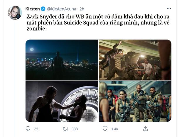Bom tấn zombie của Zack Snyder khiến khán giả khen không ngớt: Đúng chuẩn Suicide Squad bản xác sống! - Ảnh 3.