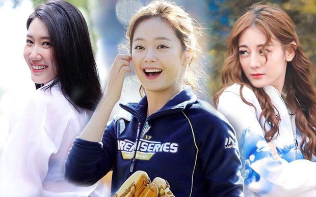 Jeon So Min - Địch Lệ Nhiệt Ba - Thúy Ngân: 3 mỹ nữ gây tranh cãi ở các phiên bản Running Man - Ảnh 1.