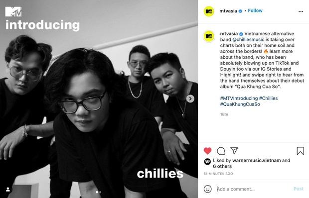 Chillies all-kill các BXH và xuất hiện trên MTV Asia, trưởng nhóm có tài tiên đoán từ 7 năm về trước? - Ảnh 1.