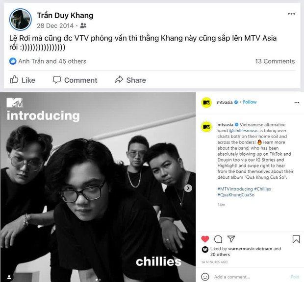 Chillies all-kill các BXH và xuất hiện trên MTV Asia, trưởng nhóm có tài tiên đoán từ 7 năm về trước? - Ảnh 2.