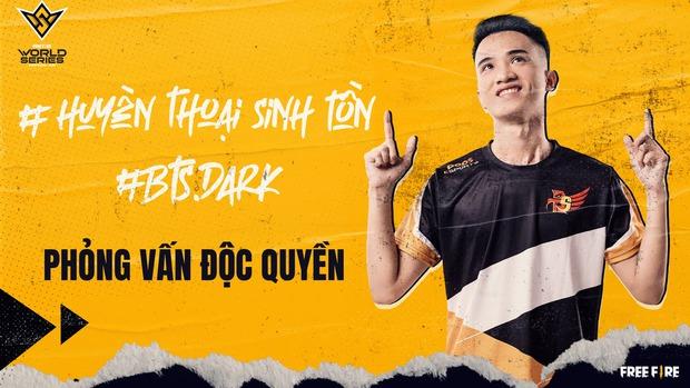 Phỏng vấn huyền thoại Free Fire Việt Nam Dark - Tuyển thủ 2 lần tham dự chung kết thế giới Free Fire - Ảnh 1.