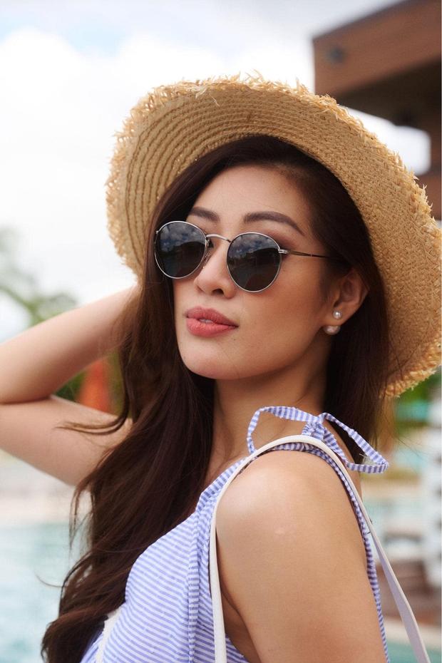 Khánh Vân đọ sắc cùng Miss Universe 2019: Nhan sắc rạng rỡ, nổi bật trên Instagram của cuộc thi - Ảnh 7.