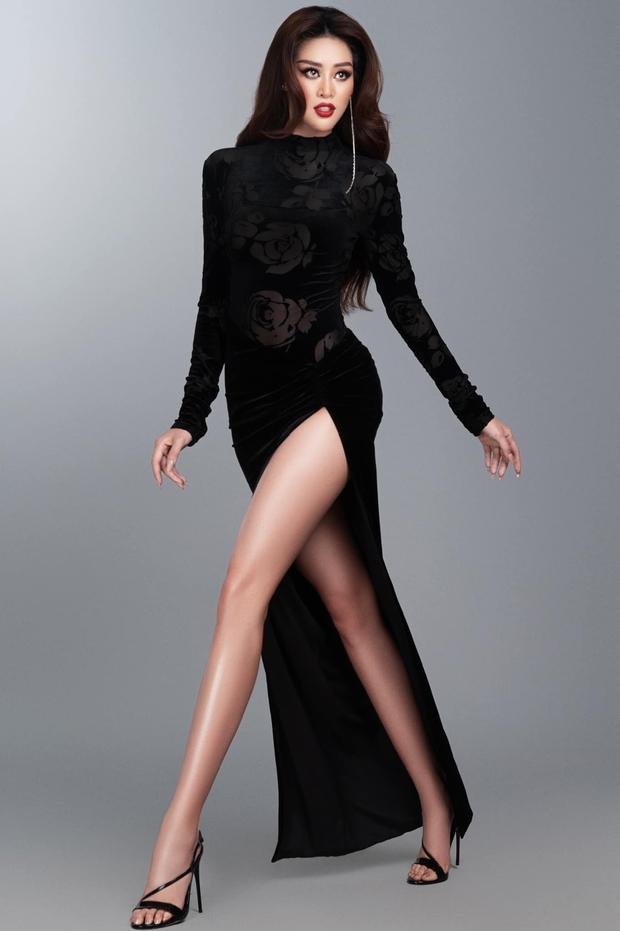 Từng gây tranh cãi ấy thế mà Khánh Vân lại ghi điểm tuyệt đối nhờ bộ cánh này, visual nổi bần bật giữa rừng mỹ nhân Miss Universe - Ảnh 2.