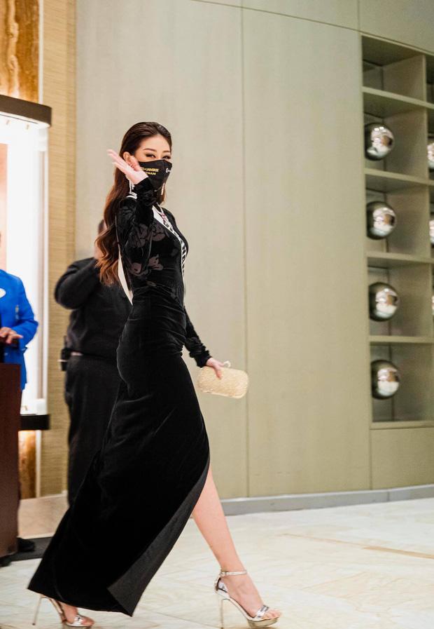 Hoàng Thuỳ giật mình vì Khánh Vân gọi nhỡ lúc nửa đêm, tiết lộ tình trạng của đàn em trước thềm bán kết Miss Universe - Ảnh 7.