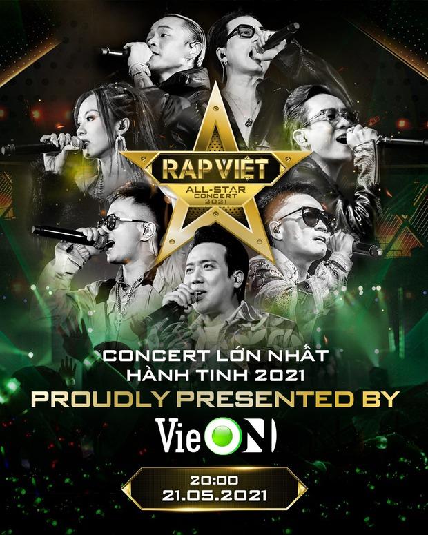 HOT: Rap Việt - All Star Concert full không che xác nhận ngày phát sóng chính thức - Ảnh 2.