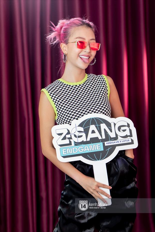 Visual xịn mịn của dàn giám khảo Z-Gang: Endgame: Quân AP đứng cạnh AMEE quá đẹp đôi, Quỳnh Anh Shyn thần thái chẳng kém! - Ảnh 6.