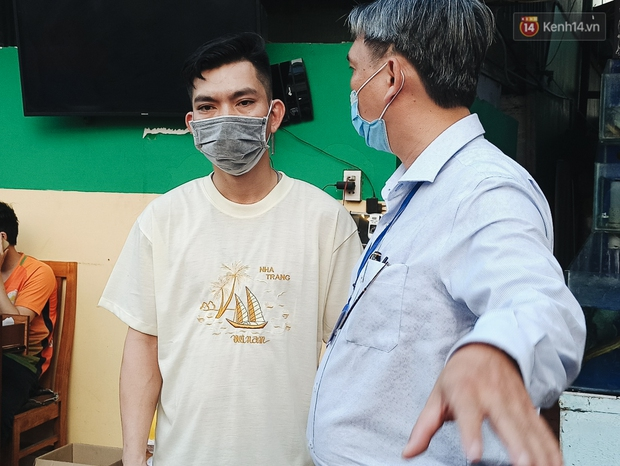 Hàng loạt nhân viên, khách nhậu ở Sài Gòn được lấy mẫu xét nghiệm Covid-19 - Ảnh 5.