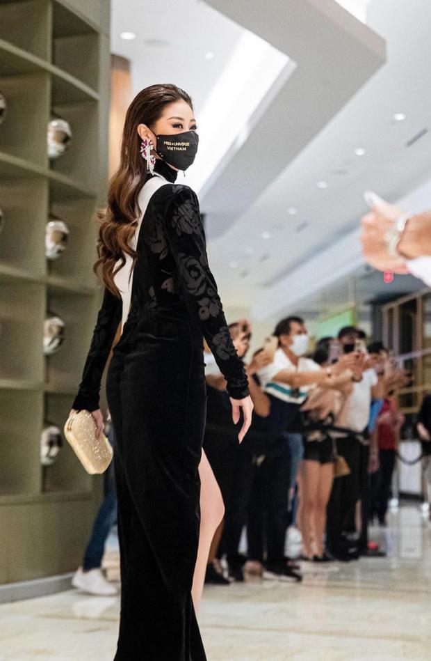 Từng gây tranh cãi ấy thế mà Khánh Vân lại ghi điểm tuyệt đối nhờ bộ cánh này, visual nổi bần bật giữa rừng mỹ nhân Miss Universe - Ảnh 3.