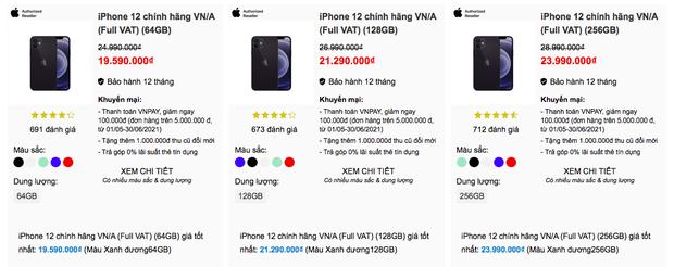 Dạo quanh các đại lý bán lẻ chính hãng Apple, nơi nào có giá iPhone 12 thấp nhất? - Ảnh 7.