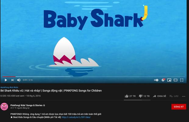 Một video YouTube bất ngờ hút 700 triệu view chỉ trong 3 tháng, đạt luôn kỷ lục 8,5 tỷ view, vượt xa dân số thế giới hiện nay! - Ảnh 3.