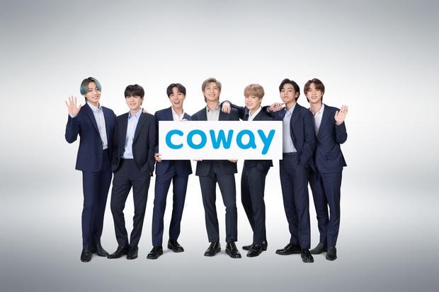 BTS trở thành đại sứ thương hiệu toàn cầu mới của Coway - Ảnh 1.