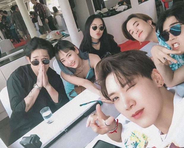 MXH đang phát sốt vì loạt ảnh Nanno (Girl From Nowhere) thân thiết với cả dàn idol, nhan sắc bất ngờ át cả mỹ nam mỹ nữ Kpop - Ảnh 5.