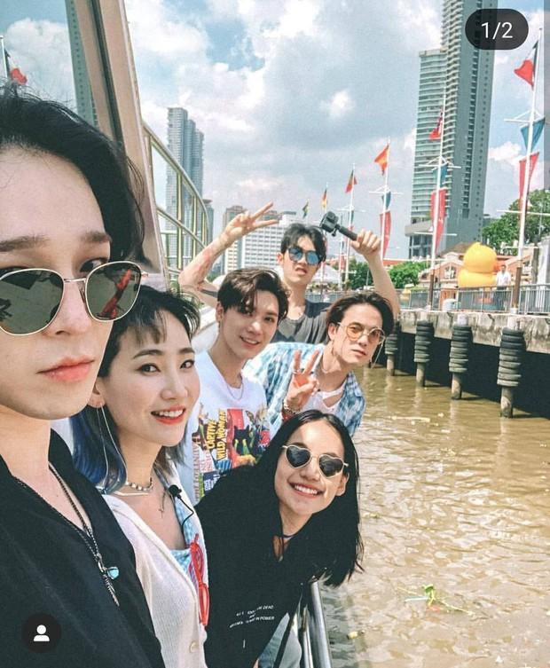 MXH đang phát sốt vì loạt ảnh Nanno (Girl From Nowhere) thân thiết với cả dàn idol, nhan sắc bất ngờ át cả mỹ nam mỹ nữ Kpop - Ảnh 7.