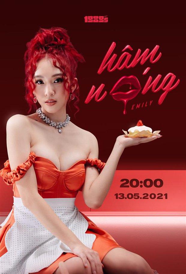 Được ông xã BigDaddy cổ vũ độ loa, Emily có ngay màn sexy hết cỡ trong teaser MV comeback - Ảnh 2.