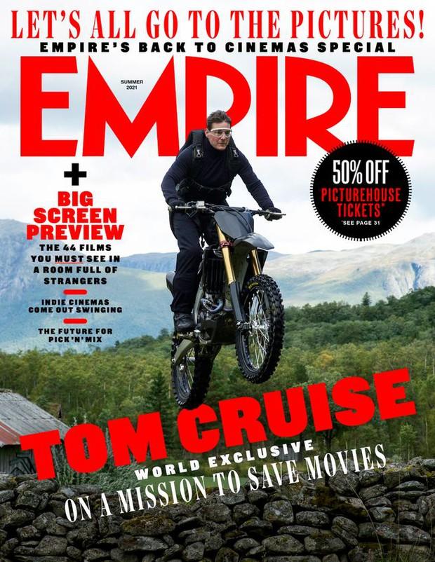 Tom Cruise đóng cảnh hành động nguy hiểm nhất sự nghiệp, giải thích việc chửi bới thậm tệ thành viên ekip Nhiệm Vụ Bất Khả Thi - Ảnh 4.