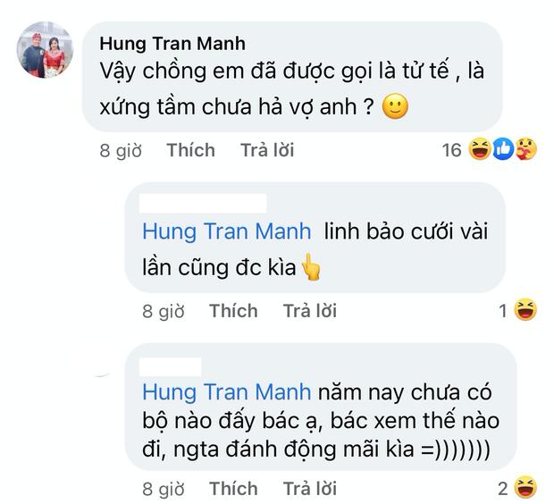 MC Hoàng Linh bất ngờ tuyên bố cưới không xứng tầm thì thà độc thân, sự xuất hiện của người chồng trong comment gây xôn xao  - Ảnh 6.