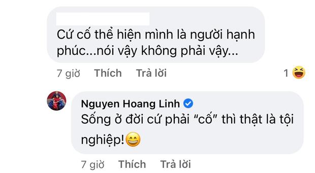 MC Hoàng Linh bất ngờ tuyên bố cưới không xứng tầm thì thà độc thân, sự xuất hiện của người chồng trong comment gây xôn xao  - Ảnh 3.