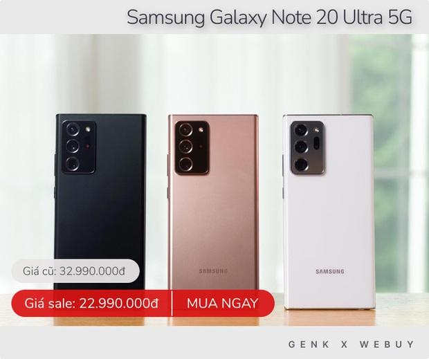 Samsung giảm 15 triệu, iPhone giảm 6 triệu và loạt deal khủng chớ nên bỏ qua trong tuần này - Ảnh 1.