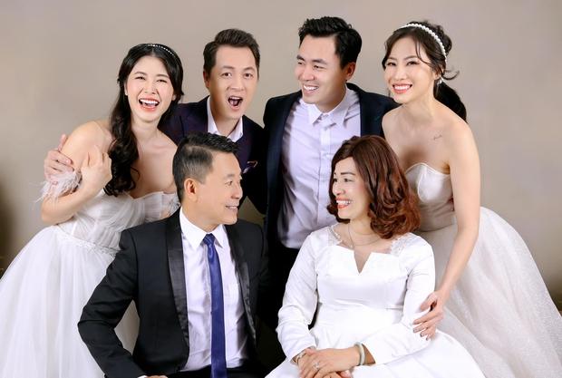 Đăng Khôi khoe ảnh kỷ niệm cưới bố mẹ: 2 anh em 100 điểm phong độ, nhìn hành động lộ luôn quan hệ mẹ chồng - nàng dâu - Ảnh 7.
