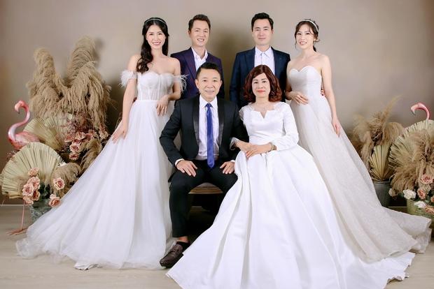 Đăng Khôi khoe ảnh kỷ niệm cưới bố mẹ: 2 anh em 100 điểm phong độ, nhìn hành động lộ luôn quan hệ mẹ chồng - nàng dâu - Ảnh 8.