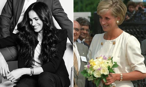 Meghan Markle lôi cả Công nương Diana vào cuộc chiến thách thức Hoàng gia Anh, bằng chứng ở một món phụ kiện nhỏ xíu - Ảnh 5.