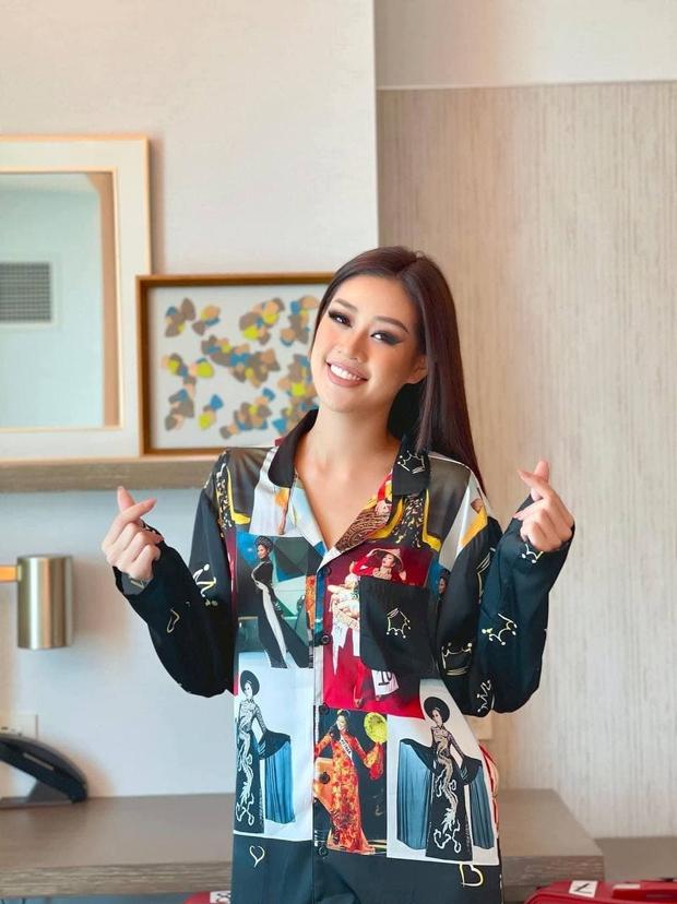 Tinh tế như Khánh Vân tại Miss Universe: Ngay cả pyjama cũng tích cực quảng bá hình ảnh Việt Nam - Ảnh 2.