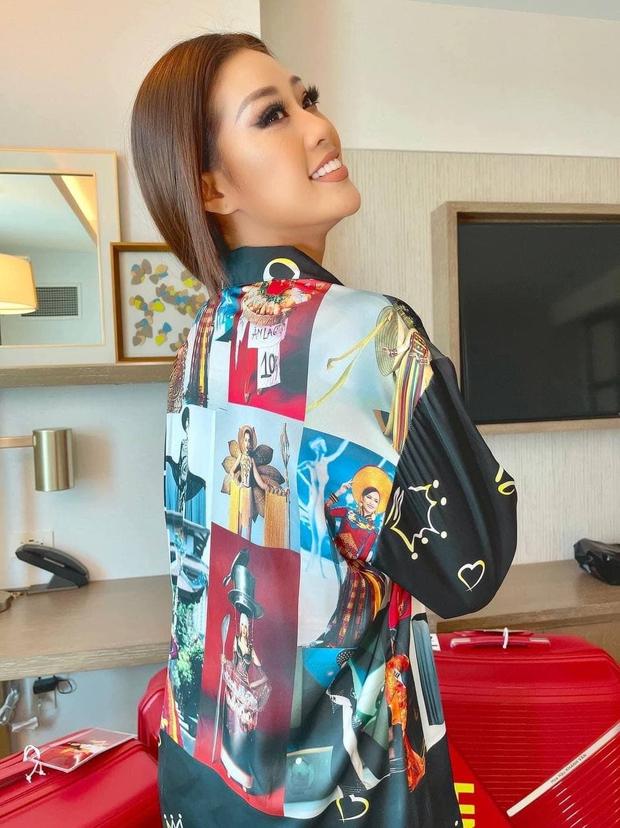 Tinh tế như Khánh Vân tại Miss Universe: Ngay cả pyjama cũng tích cực quảng bá hình ảnh Việt Nam - Ảnh 3.