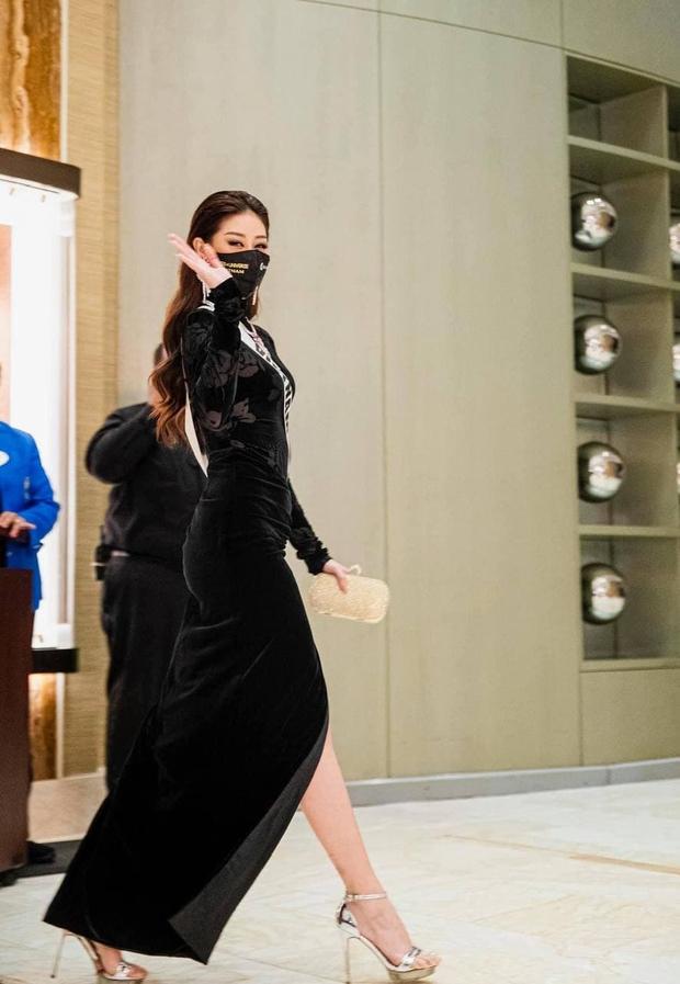 Khánh Vân khiến netizen hố hàng khi diện trang phục được cho là của Bán kết... đi ăn tối - Ảnh 3.
