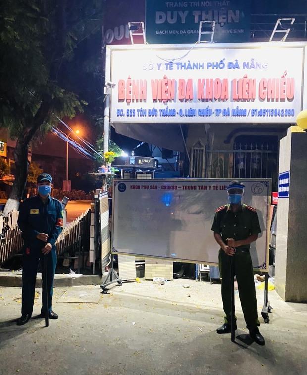 Đà Nẵng tạm dừng hoạt động 1 bệnh viện vì phát hiện ca dương tính SARS-CoV-2 liên quan Khu công nghiệp An Đồn - Ảnh 2.