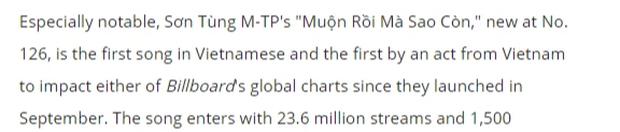 Rút cuộc là: Sơn Tùng có phải nghệ sĩ Đông Nam Á đầu tiên lọt vào BXH Billboard Global không? - Ảnh 3.