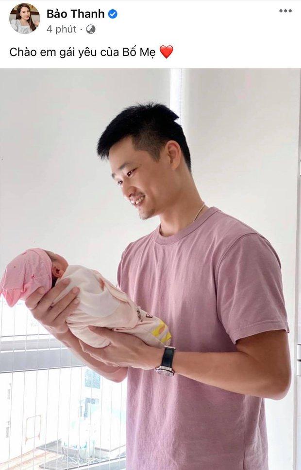 Bảo Thanh đã hạ sinh nhóc tỳ thứ 2, hé lộ giới tính và cách gọi đặc biệt khiến dàn sao rần rần vào chúc mừng - Ảnh 2.
