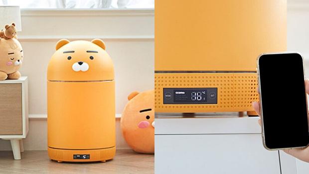 Tủ lạnh nhỏ mà có võ của Kakao Friends: Đã xinh xỉu còn đa năng, vừa bảo quản đồ vừa là loa Bluetooth - Ảnh 7.