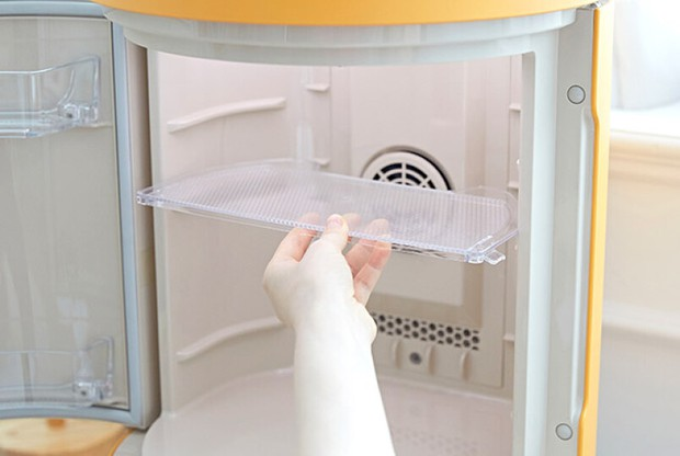Tủ lạnh nhỏ mà có võ của Kakao Friends: Đã xinh xỉu còn đa năng, vừa bảo quản đồ vừa là loa Bluetooth - Ảnh 3.