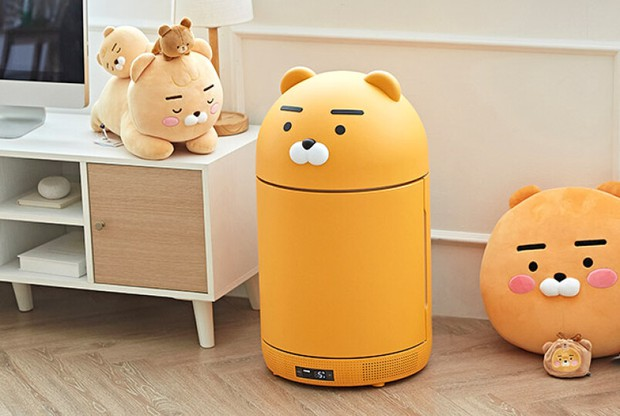 Tủ lạnh nhỏ mà có võ của Kakao Friends: Đã xinh xỉu còn đa năng, vừa bảo quản đồ vừa là loa Bluetooth - Ảnh 1.