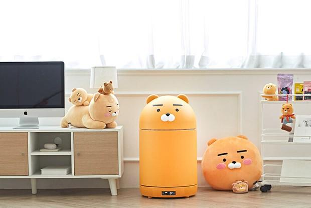 Tủ lạnh nhỏ mà có võ của Kakao Friends: Đã xinh xỉu còn đa năng, vừa bảo quản đồ vừa là loa Bluetooth - Ảnh 8.