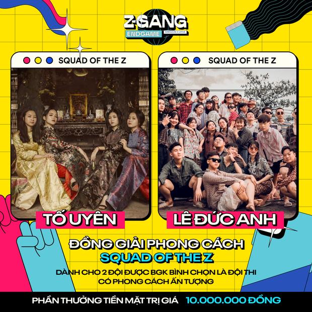 Kết quả chung cuộc Z-Gang Endgame: Đội nào được Quân AP - AMEE - Quỳnh Anh Shyn và khán giả vote giải Nhất? - Ảnh 6.