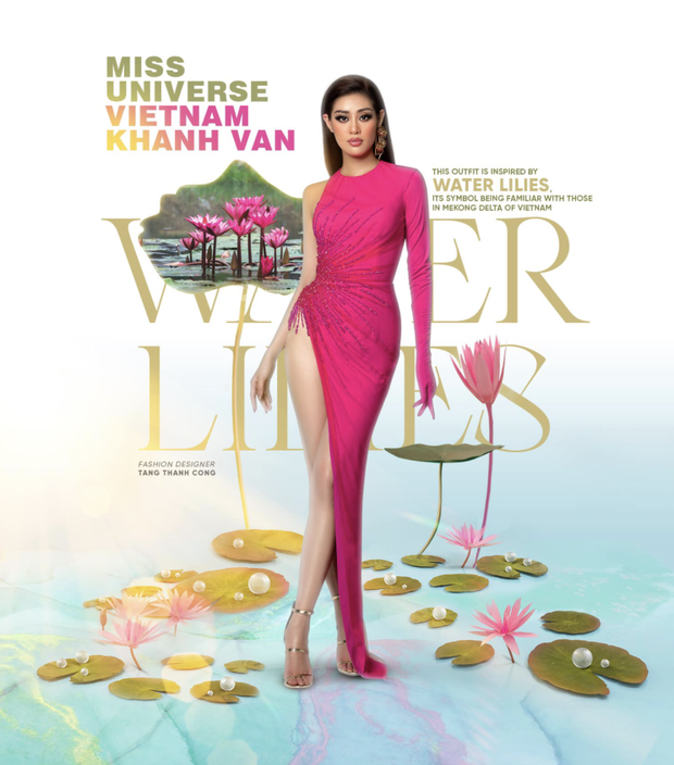 Khánh Vân gây sốt khi diện áo dài truyền thống ở Miss Universe, xinh nức nở đọ sắc với Hoa hậu xứ Trung trong 1 khung hình - Ảnh 8.