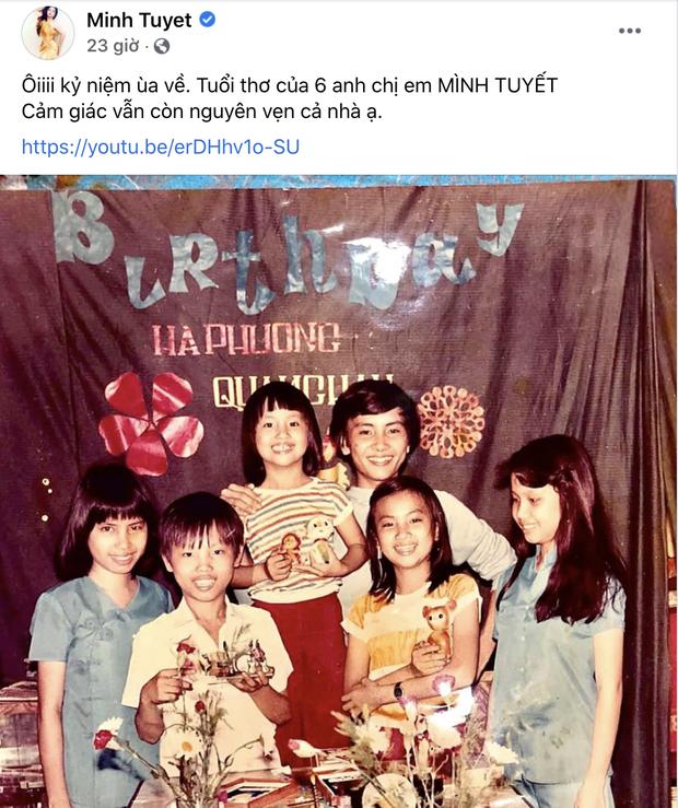Ảnh hiếm của gia đình nghệ sĩ nữ thành công nhất Vbiz: 3 chị em sau mấy chục năm trở thành siêu sao, tài sản hàng trăm tỷ đồng - Ảnh 2.