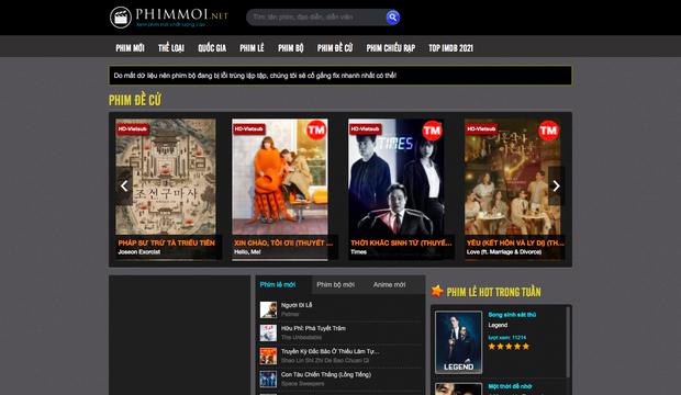 Phimmoi.net bất ngờ hồi sinh trở lại với tên zphimmoi.com - Ảnh 3.