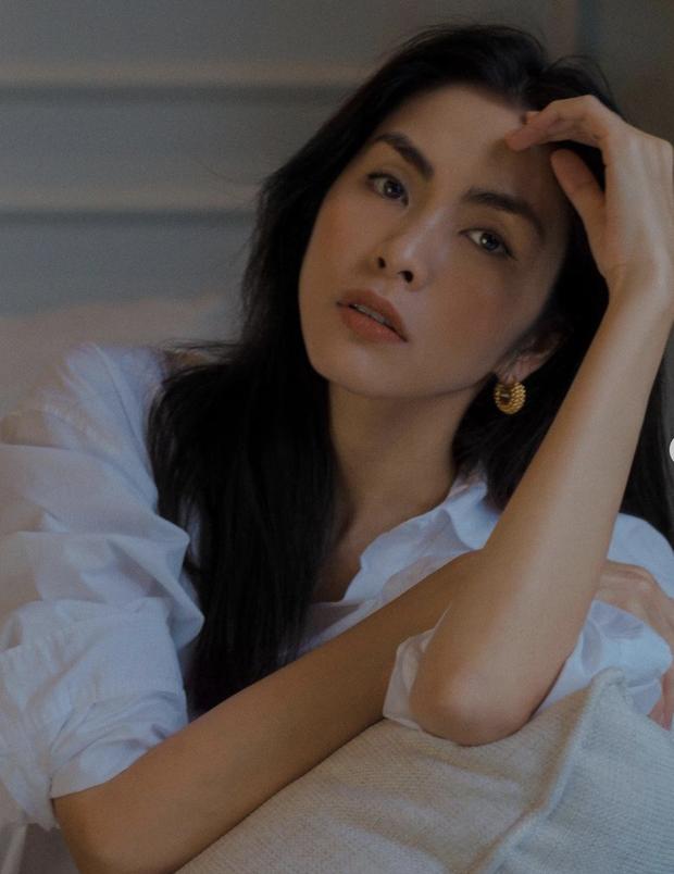 Đào lại ảnh của Hà Tăng năm 17 tuổi: Xứng danh ngọc nữ đẹp và thần thái, tóc ngắn cá tính ngời ngời khí chất đại mỹ nhân - Ảnh 3.