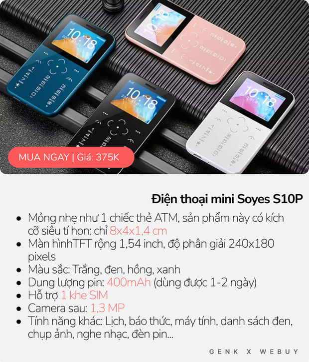 """5 kiểu điện thoại siêu """"mẩu"""", mua về làm cảnh là chính vì thiết kế dị biệt vô cùng! - Ảnh 1."""