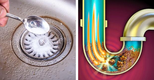 6 cách thông tắc bồn rửa từ những nguyên liệu sẵn có trong nhà bếp, chi phí chưa đến vài chục ngàn - Ảnh 1.