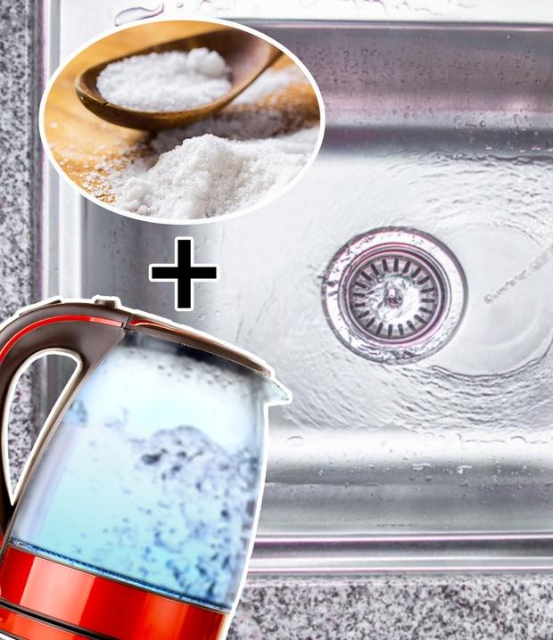 6 cách thông tắc bồn rửa từ những nguyên liệu sẵn có trong nhà bếp, chi phí chưa đến vài chục ngàn - Ảnh 2.