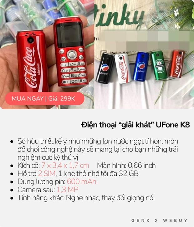 """5 kiểu điện thoại siêu """"mẩu"""", mua về làm cảnh là chính vì thiết kế dị biệt vô cùng! - Ảnh 3."""