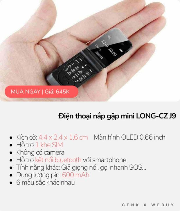 """5 kiểu điện thoại siêu """"mẩu"""", mua về làm cảnh là chính vì thiết kế dị biệt vô cùng! - Ảnh 4."""