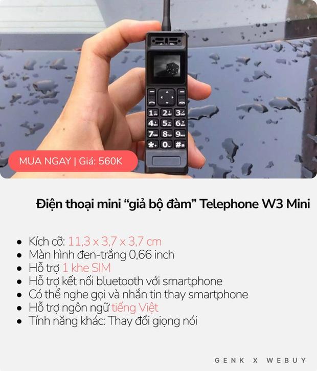 """5 kiểu điện thoại siêu """"mẩu"""", mua về làm cảnh là chính vì thiết kế dị biệt vô cùng! - Ảnh 5."""